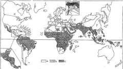 Этиология и география распространения - малярия