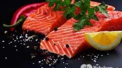 Калорийность лосося