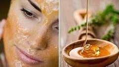 Маски из меда для лица